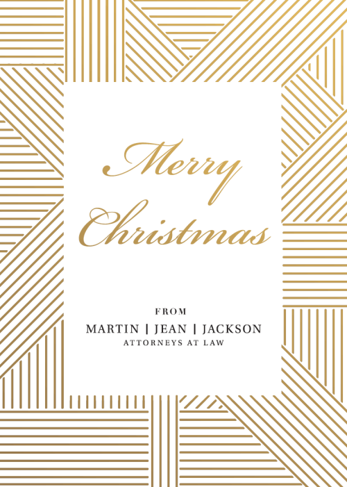 Merry Christmas from Martin Jean & Jackson